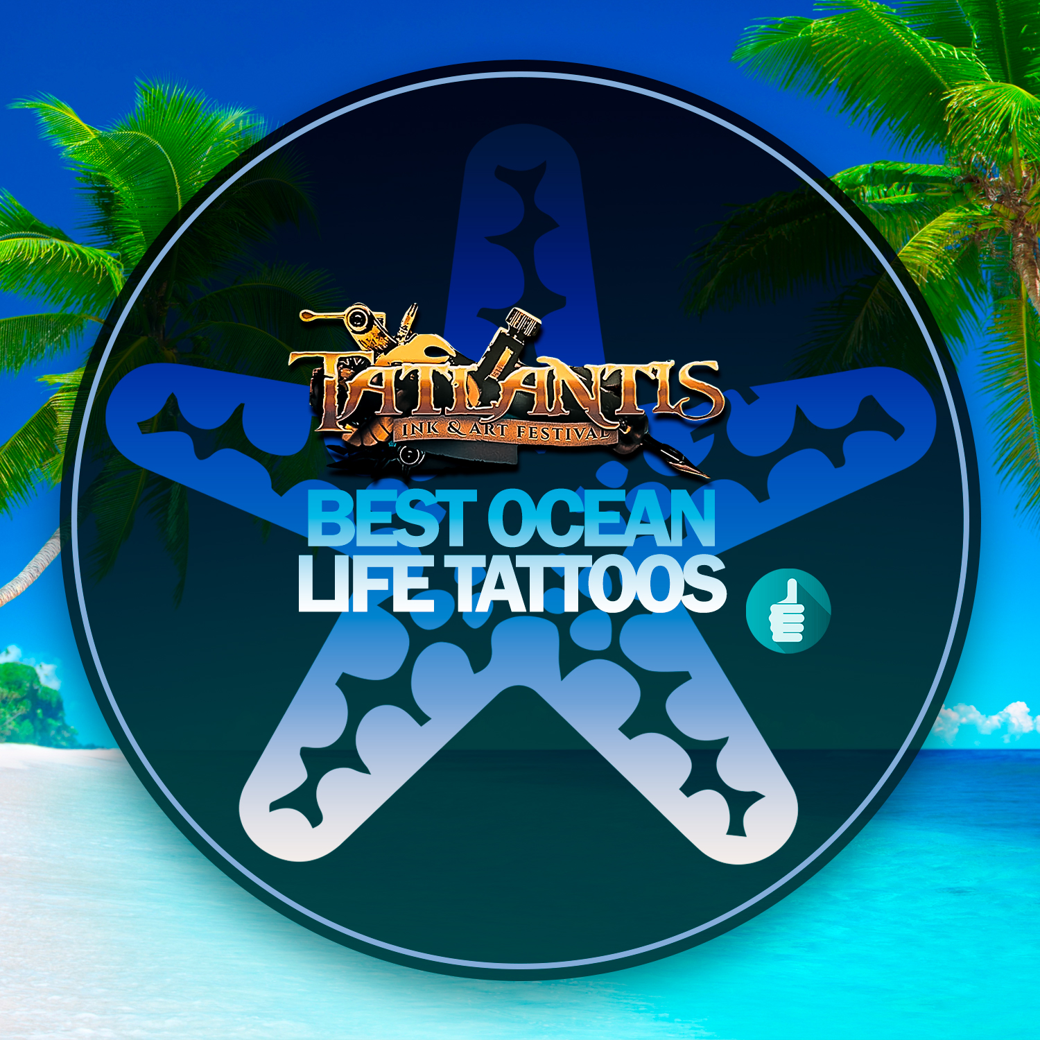 Best Ocean Life Tattoos July 2019 | Tatlantis