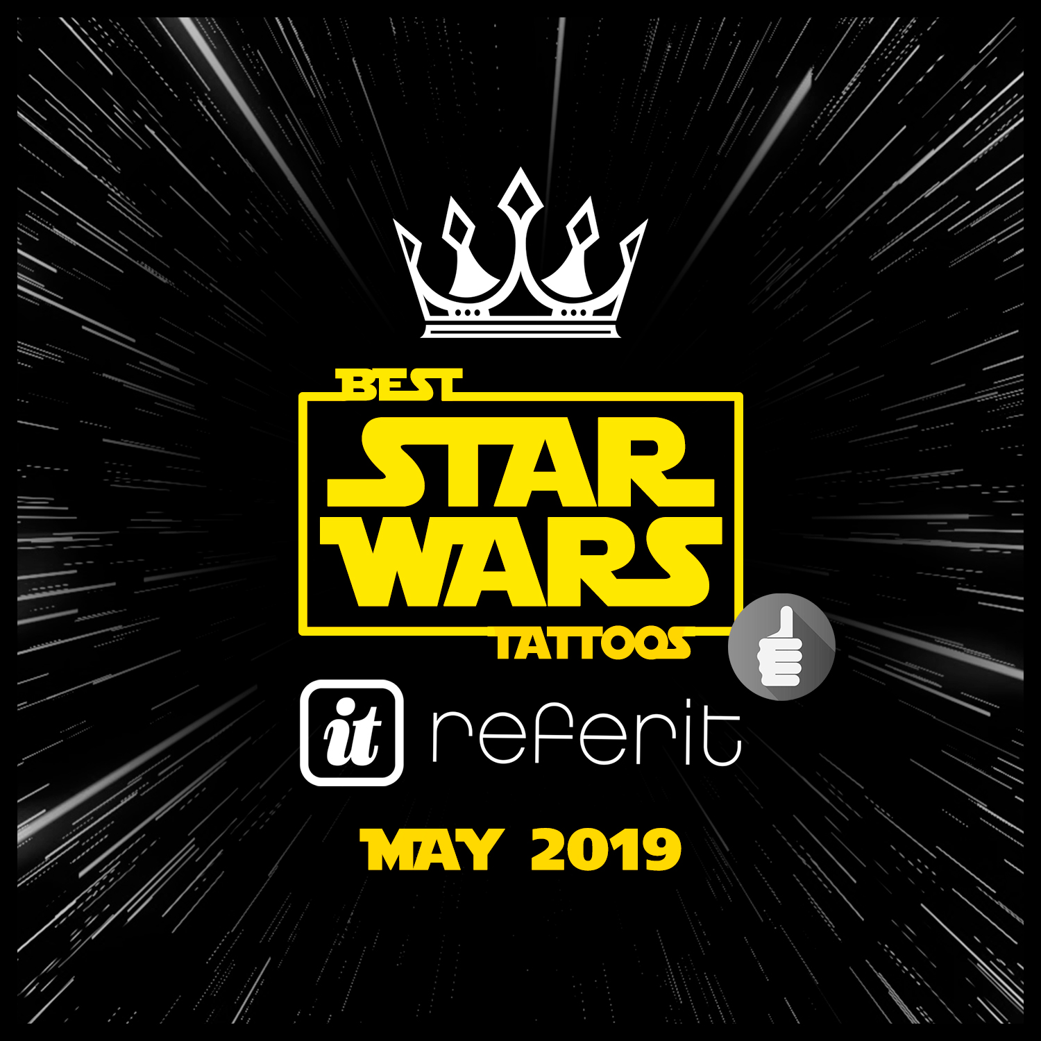Best Star Wars Day Tattoos May 2019 | ReferIt